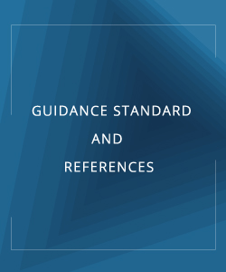 GUIDANCE STANDARD AND REFERENCES