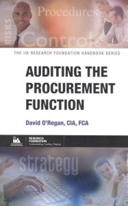 AUDITING THE PROCUREMENT FUNCTION