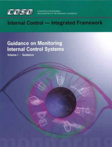 GUIDANCE ON MONITORING INTERNAL CONTROL SYSTEMS (2009)