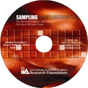 SAMPLING FOR INTERNAL AUDITORS, 2ND EDITION: TEXT-BASED SELF-STUDY COURSE