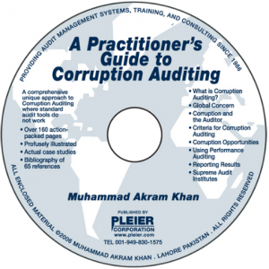 A PRACTITIONER'S GUIDE TO CORRUPTION AUDITING