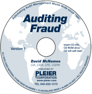 AUDITING FRAUD: COMPLETE PUBLICATIONS, THREAT SCENARIOS, PURCHASING & CONTRACTS FRAUD