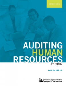 AUDITING HUMAN RESOURCES, (2ND EDITION)