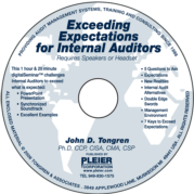EXCEEDING EXPECTATIONS FOR INTERNAL AUDITORS