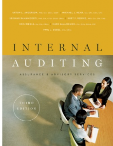 INTERNAL AUDITING: ASSURANCE AND ADVISORY SERVICES, 3RD EDITION
