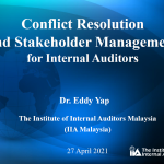 Conflict Resolution and Stakeholder Management for Internal Auditors
